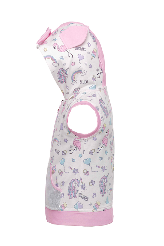 9/36 Months Baby Girl Unicorn Printed Pink Track Suit